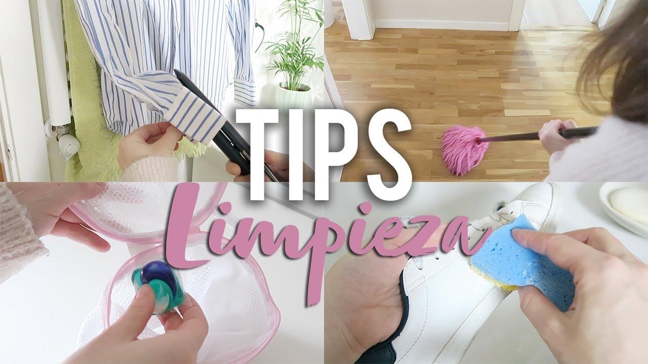 Trucos De Limpieza Para La Casa Y La Ropa Youtube