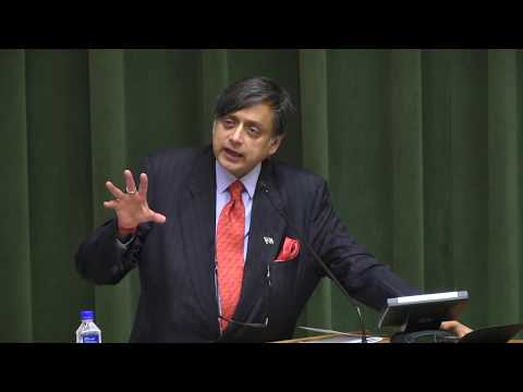 Dr Shashi Tharoor addressing the 2nd US India Conference 201