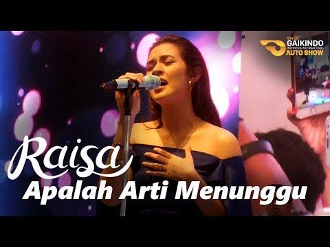 RAISA - Apalah Arti Menunggu (Live at GIIAS 2017 | Booth Suzuki)