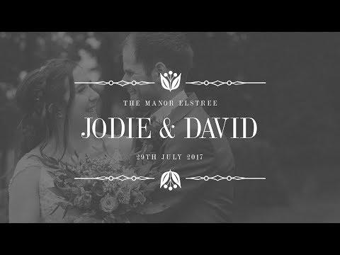 The Manor Elstree Wedding - Jodie & David