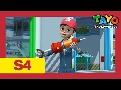 Tayo S4 E16-20 l Give me courage & more l Why is Hana holding a shot? l Tayo the Little Bus