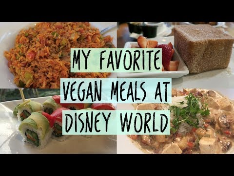 Vegan Disney World Meals