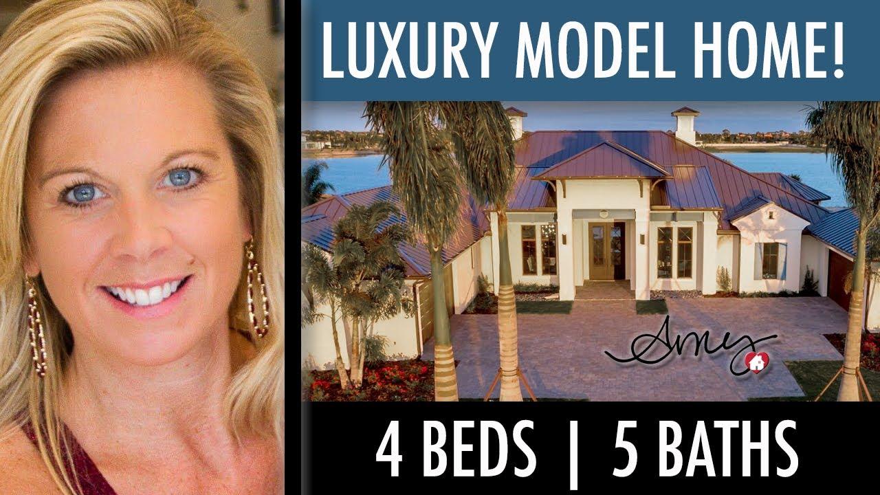 Luxury Home Tour Christopher Burton Laguna Model 4 Bedroom 5 Bath Amazing Outdoor Area Youtube