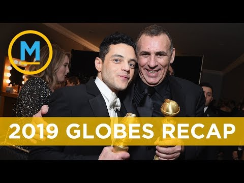 'Bohemian Rhapsody' and Rami Malek win big at the Golden Globes | Your Morning Mp3
