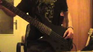 k on dont say lazy bass cover by me