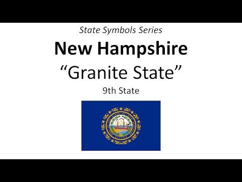 State Symbols Series New Hampshire Youtube