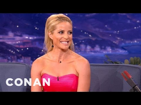 Jockey Chantal Sutherland Gets Naked In The Garage After Work - CONAN on TBS