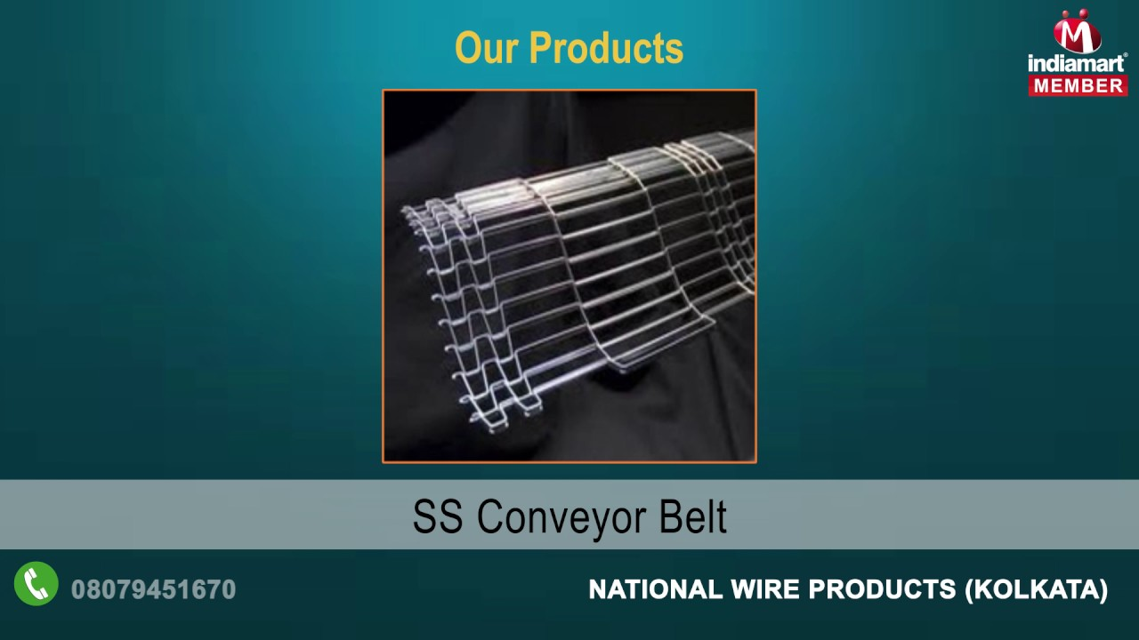 Industrial Wire Product By National Wire Products, Kolkata - YouTube