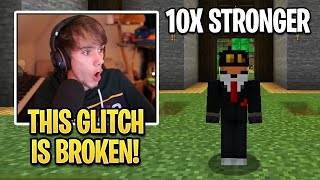 Fundy DISCOVERED New GLITCH That Made Him 10X STRONGER! (Origin SMP)