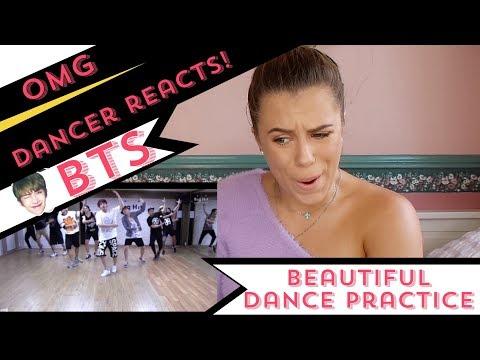 방탄소년단 'Beautiful' Dance Practice BTS - DANCER REACTS!