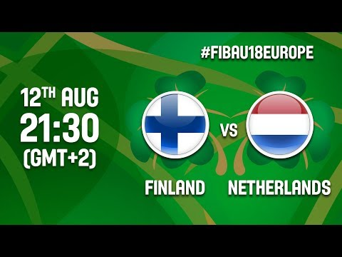 Finland V Netherlands - Full Game - Class 9-12 - FIBA U18 Women's European Championship 2017 - DIV B