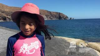 Valentina #MyOceanPledge Islands and Protected Areas of the Gulf of California