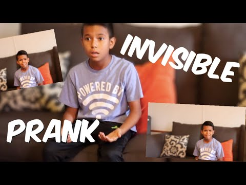 J. Cortez - This Might Be The Best 'Invisible' Prank Yet