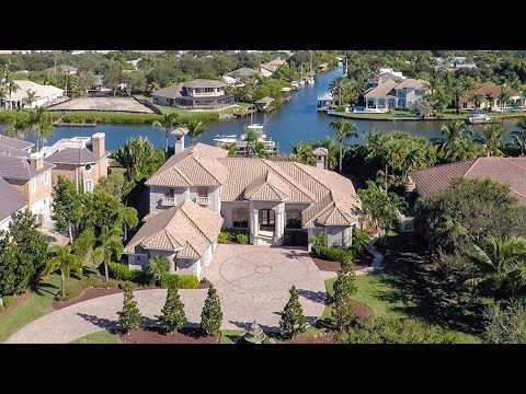 144 Lansing Island Drive, Indian Harbour Beach - Grand Canal Estate - $1.25 Million