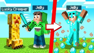 We Found LUCKY CREEPERS In MINECRAFT! (Insane)