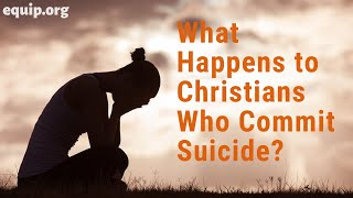 What Happens to Christians Who Commit Suicide? - Hank Hanegraaff