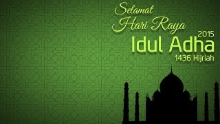 Membuat Kartu Ucapan Selamat Idul Adha 1436 Hijriah 2015