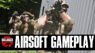 Ballahack Airsoft Weekend Gameplay