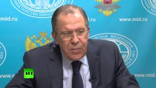 Сергей Лавров ответил на вопрос о военном сотрудничестве РФ и Ирана