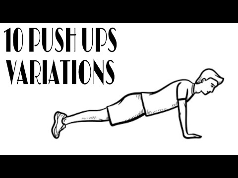 10 Pushup Variations From Beginner to Advanced