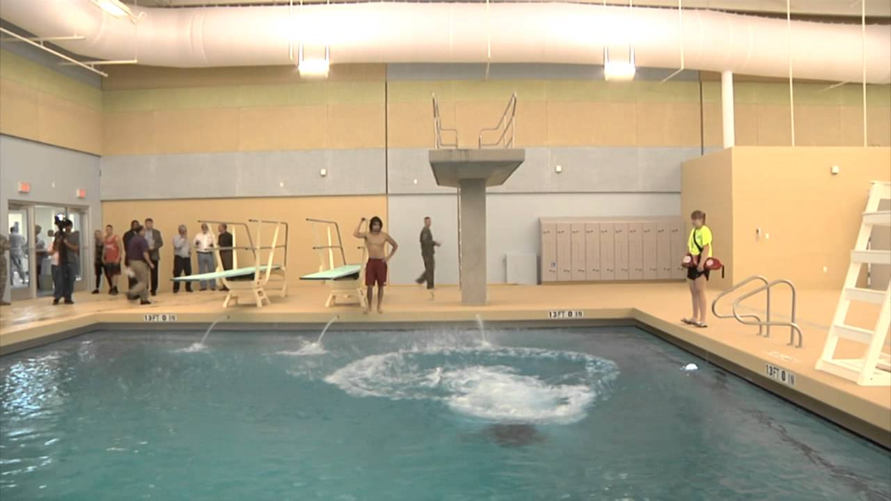 fort bliss gets pool youtube