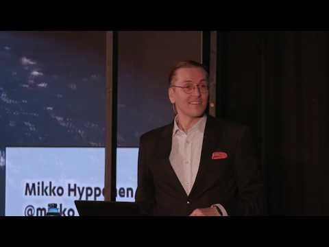 Mikko Hypponen speaks about WannaCry at SPECIES