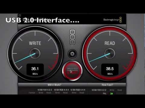 USB2.0 vs USB3.0 vs FireWire800 - Speed Test!