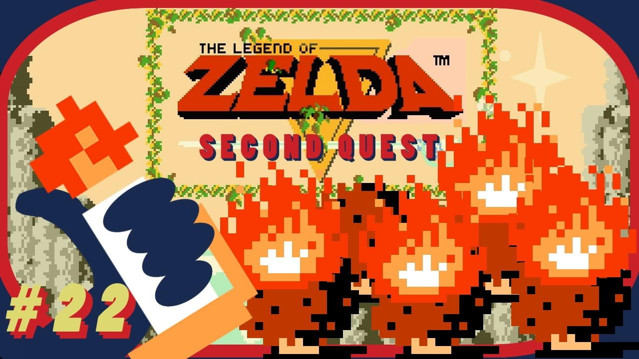 Legend of Zelda: 2nd Quest - That Useless Red Candle (Part 22) - Gamehiker  HD