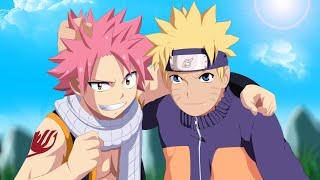 vuclip Natsu Dragneel Vs Naruto Uzumaki - (Fan Made)