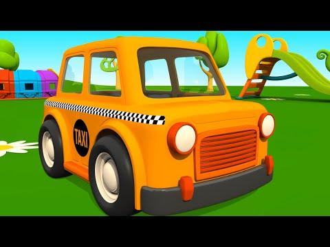 Leo la Troca Curiosa - Taxi - Carros para niños