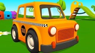 leo la troca curiosa taxi carros para nios