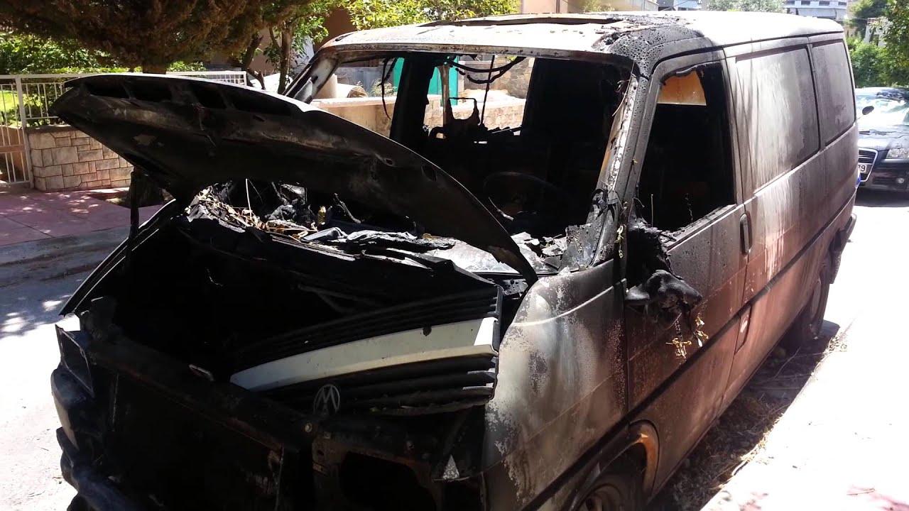 Καμένο στα Άνω Λιόσια βρέθηκε το αυτοκίνητο που διέφυγαν οι  ληστές.