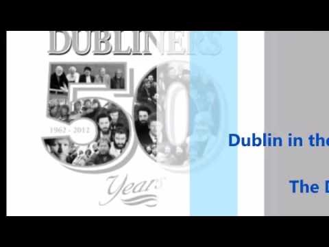 Dublin in the Rare Old Times - Luke Kelly Lyric Video