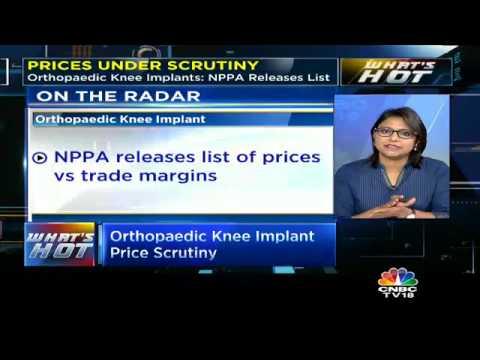 Orthopaedic Knee Implant Price Scrutiny