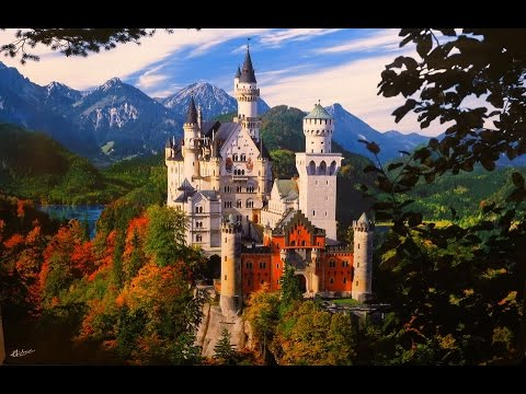 New Swan Stone Castle Bavaria, Germany