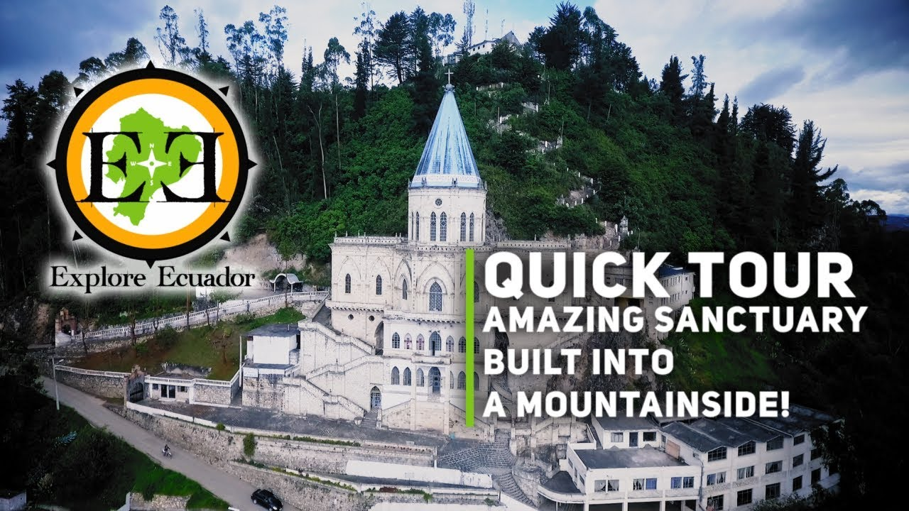 QUICK TOUR - Amazing sanctuary built into the side of a mountain!