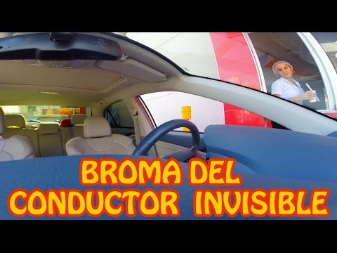 LA BROMA DEL CONDUCTOR INVISIBLE