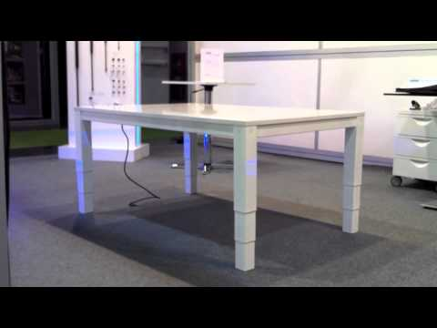 Mesa Regulable Altura (3 tramos) - 4P3T - YouTube