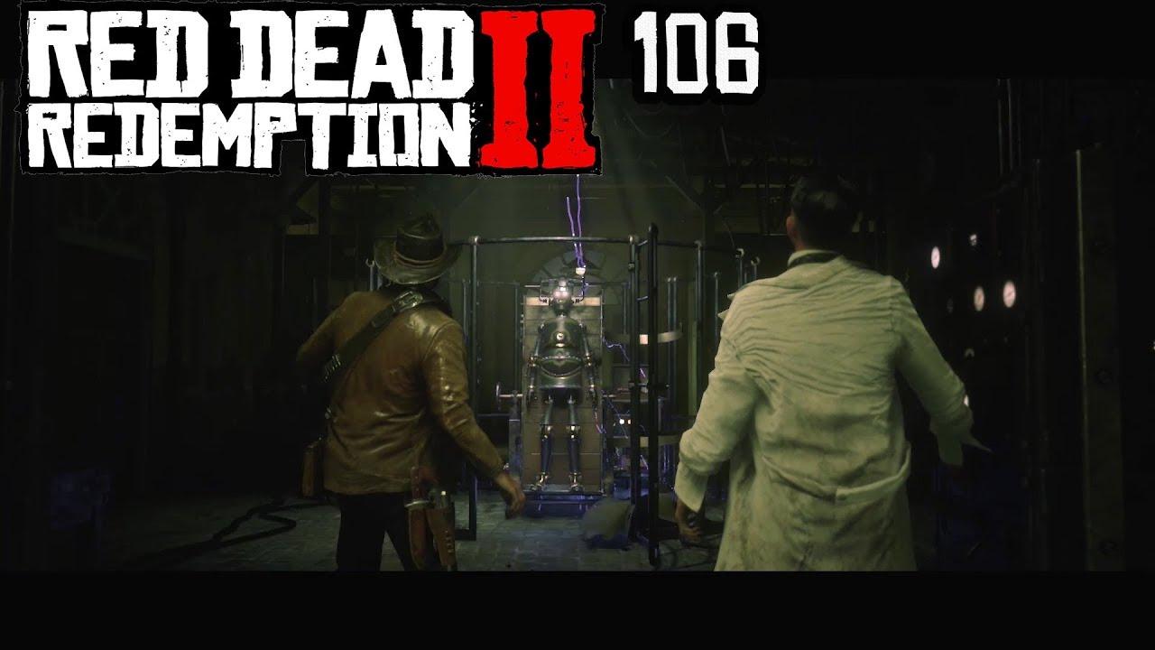 Red Dead Redemption 2 * 106 * DIE GEHEIMNISVOLLEN EXPERIMENTE DES MARKO DRAGIC * Old Man * Ps4pro