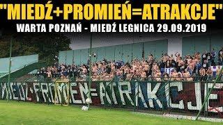 MIEDŹ+PROMIEŃ=ATRAKCJE: Warta Poznań - Miedź Legnica 29.09.2019