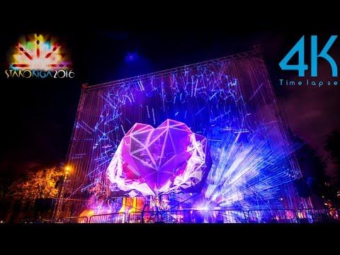 Incredible 4K UHD Light Festival Timelapse Photography Video In Riga, Latvia ''Staro Rīga''