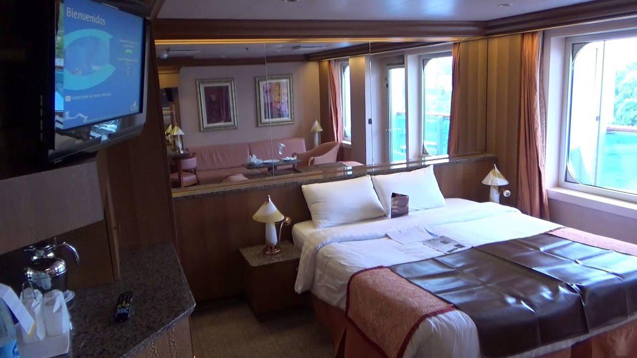 Costa Pacifica Grand Suite 7328 Cabin 7328 Youtube