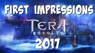 TERA First Impressions 2017 - Is TERA's Valykrie Class Fun?