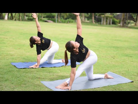 Full Hip Opening with forward Bend Yoga Class with Master Ajay
