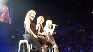 Miranda Lambert, Ashley Monroe & Carolyn Dawn Johnson Cowboy Take Me Away Worcester, MA 4-10-15