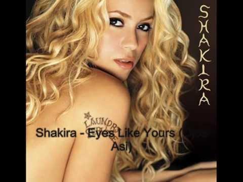 Eyes Like Yours - Shakira (Lyrics)