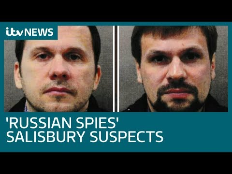 'Russian intelligence officers' named as Salisbury nerve agent suspects | ITV News