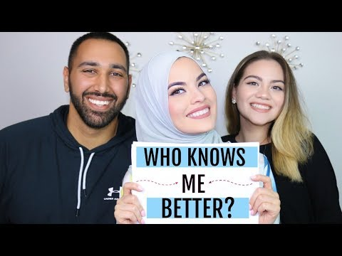 WHO KNOWS ME BETTER? HUSBAND vs SISTER