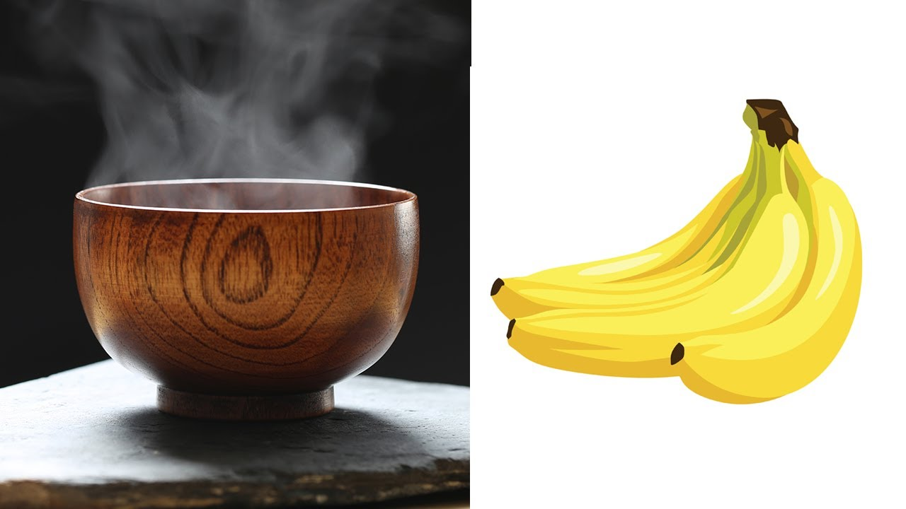 Eat 2 Bananas and Drink One Glass of Warm Water Every ...