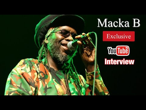 Macka B - Exclusive Interview @ YouTube